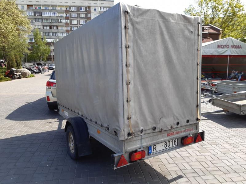 RB 1101 Kravas kaste ar tentu