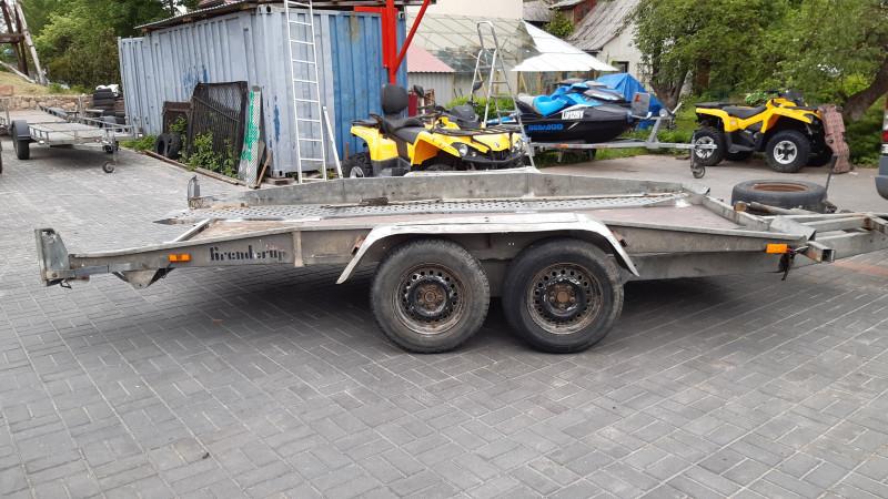 BRENDERUP 18 Piekabe autovedējs