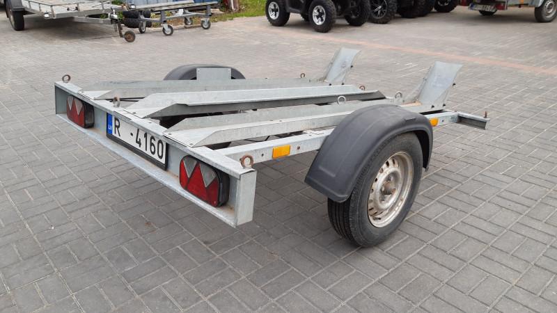 STEDELE SMS 175 Motovedējs piekabe 2- vietigs