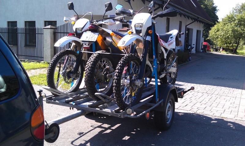 AGADOS KANGAROO Motovedējs piekabe 3-vietigs