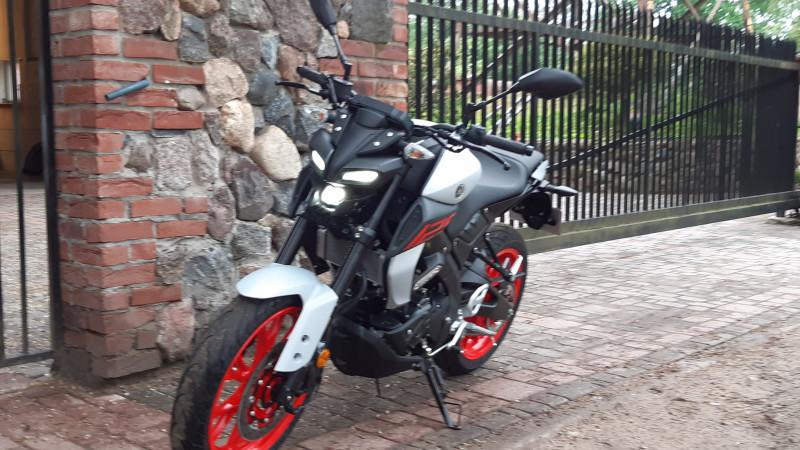 Yamaha MTN125-A